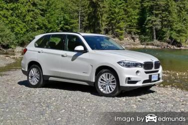 Insurance rates BMW X5 in Aurora