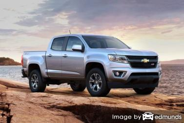 Insurance rates Chevy Colorado in Aurora