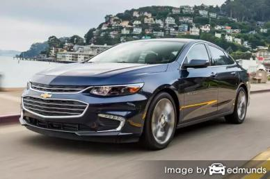 Insurance quote for Chevy Malibu in Aurora