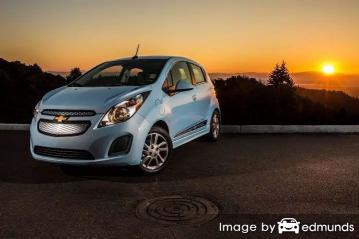 Insurance quote for Chevy Spark EV in Aurora