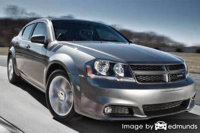 Insurance rates Dodge Avenger in Aurora