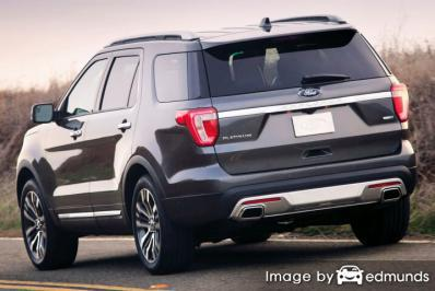 Insurance rates Ford Explorer in Aurora
