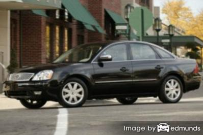 Insurance rates Ford Five Hundred in Aurora