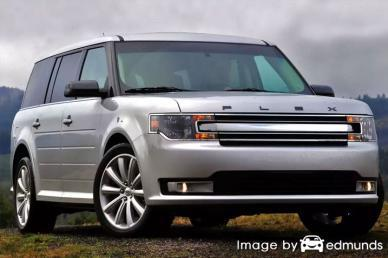 Insurance rates Ford Flex in Aurora