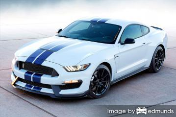 Insurance rates Ford Shelby GT350 in Aurora