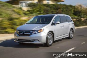 Insurance rates Honda Odyssey in Aurora