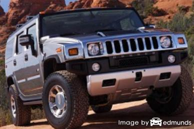 Insurance quote for Hummer H2 in Aurora