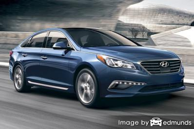 Insurance quote for Hyundai Sonata in Aurora