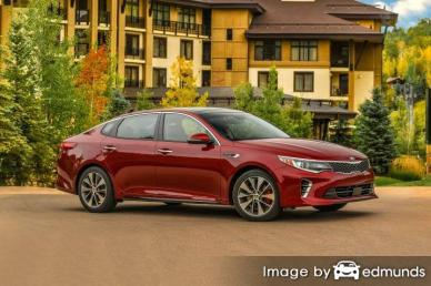 Discount Kia Optima insurance