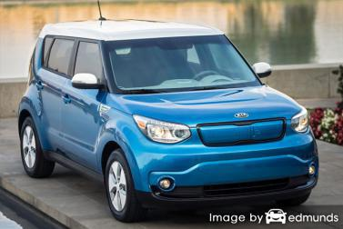 Insurance rates Kia Soul EV in Aurora