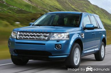 Insurance rates Land Rover LR2 in Aurora