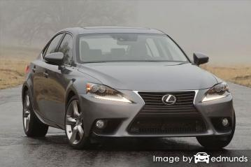 Discount Lexus IS 350 insurance