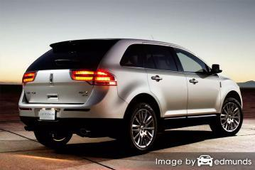 Insurance quote for Lincoln MKX in Aurora