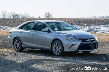 Discount Toyota Camry insurance