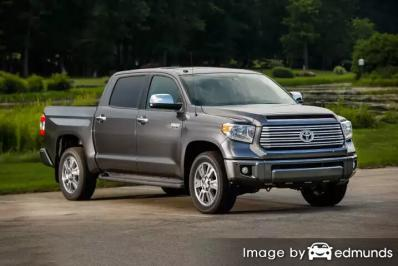 Insurance quote for Toyota Tundra in Aurora