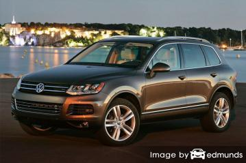 Insurance quote for Volkswagen Touareg in Aurora